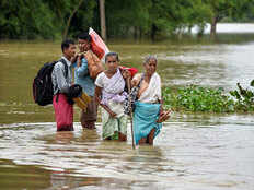 flood situation in assam better now chief minister visits kachhar district