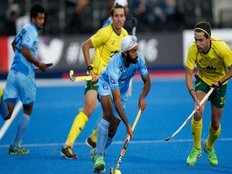 champions trophy hockey final india vs australia highlights india go down fighting to australia in final