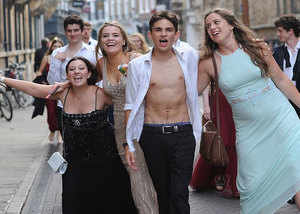 cambridge university celebrates may ball after exams