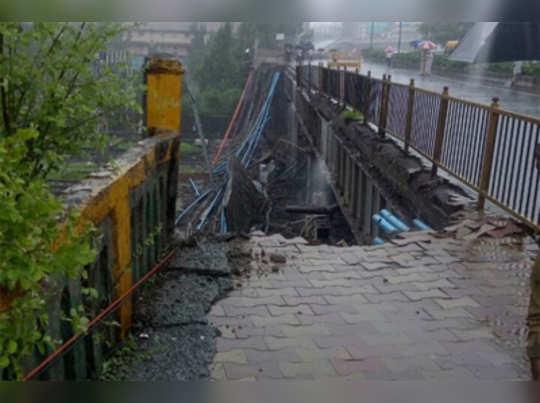 Andheri Bridge Collapse: 'केबल'भारामुळे अपघात?
