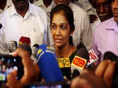 pm asks president to temporarily remove vijayakala maheswaran