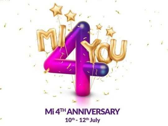 mi anniversary sale