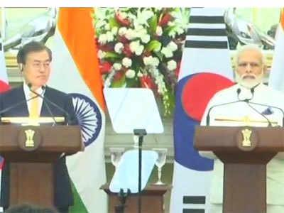 पीएम ने साउथ कोरिया को बताया भारत का मित्र
