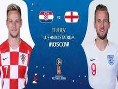 fifa semi finals 2 england vs croatia who will face france in the finals