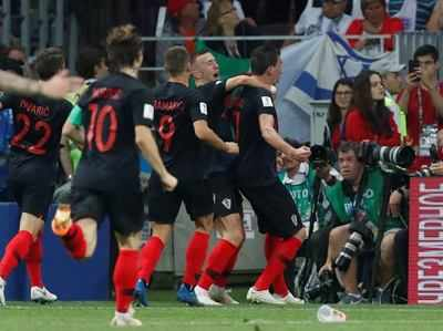 FIFA Vishv Cup 2018 England Ko Haraakar Pehli Baar Final Mein Kroeshiya