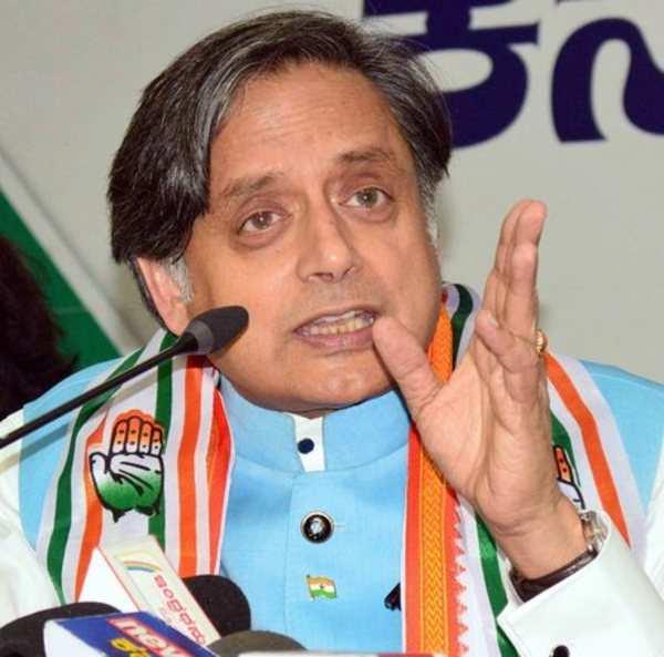 shashi tharoor issues 2019 warning says hindu pakistan if bjp wins