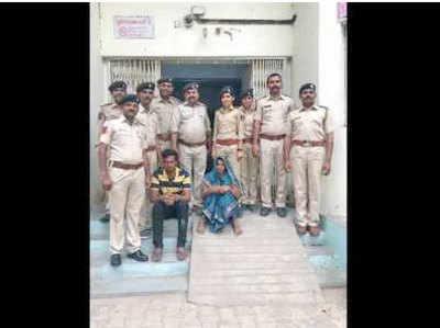 पुलिस की गिरफ्त में कंकू और उमंग