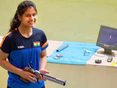 shooter manu bhaker wins gold medal in meeting of the shooting hopes