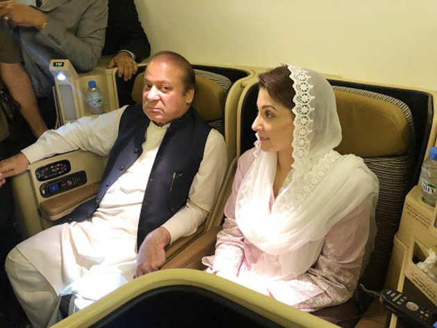 पाकिस्तान लौटना ही था नवाज शरीफ, मरियम का 'आखिरी रास्ता', जानें क्यों