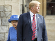 trump broke protocol in uk while inspecting the guard of honour