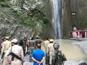 landslide near reasi district of jammu and kashmir five died