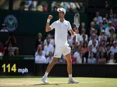 novak djokovic lifts mens singles wimbledon title beating kevinanderson