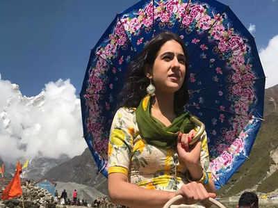 सारा अली खान और सुशांत ने की खूब सारी मस्ती