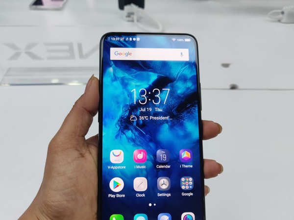 vivo nex first look features and specifications