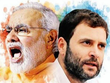 congress bjp faceoff in gujarat as modi and rahul cancelled their gujarat trip