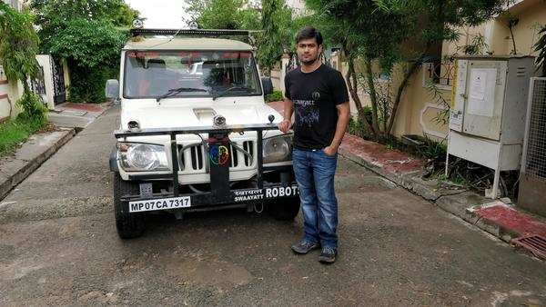 now take a back seat with this bhopal techie s self driven car
