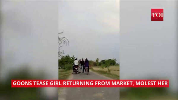 shocking group of boys harass girl in ups jaunpur