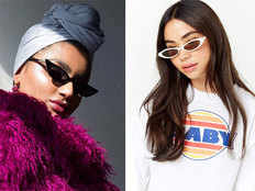 small and skinny sunglasses is in trend do buy them