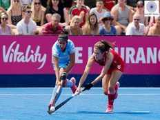 women hockey world cup indian play draw to england in their opening match