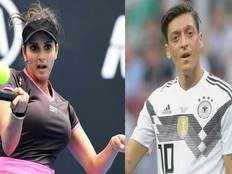 sania mirza backs mesut ozil says racism should not and will not be accepted