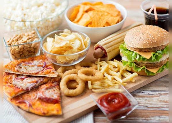ज्यादा जंक फूड खाना