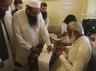 hafiz saeed casts his vote in lahore