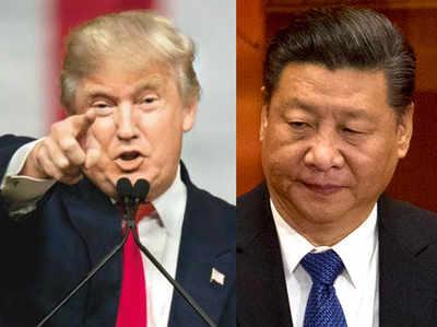 अमेरिकी राष्ट्रपति ट्रंप और चीन के राष्ट्रपति शी चिनफिंग (फाइल)