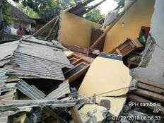 indonesia earthquake 10 dead on tourist island lombok