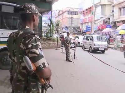 राज्य में सुरक्षा इंतजाम चाक-चौबंद कर लिए गए हैं।