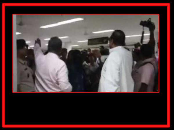 tmc mps beaten up at silchar airport