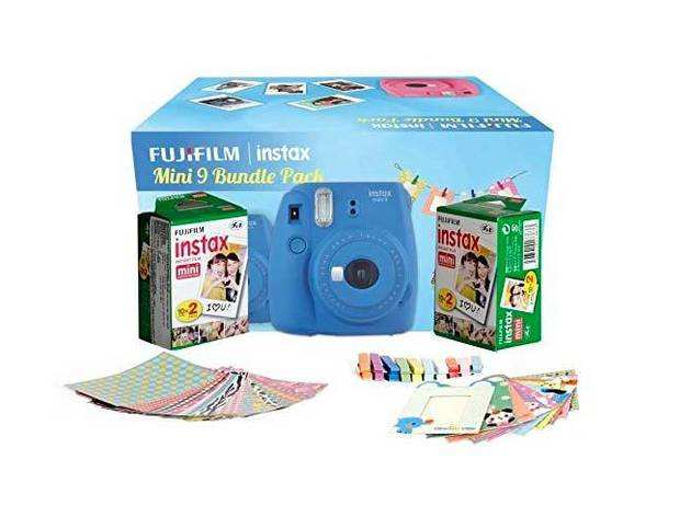 Fuji Instax Mini 9 Bundle Pack