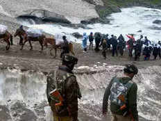 amarnath yatra suspended from jammu after protest in favour of article 35a