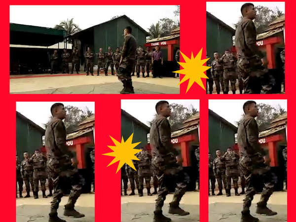 watch stunning dance performance by indian army soldier
