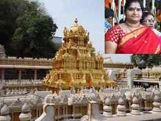 durga temple saree missing case memo issued to trust board member suryalatha