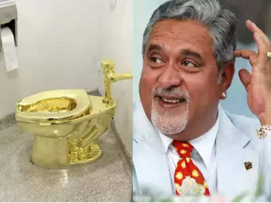 विजय मल्ल्याच्या घरात सोन्याचं टॉयलेट