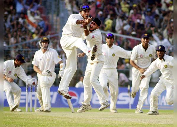 मार्च 2001, vs ऑस्ट्रेलिया @कोलकाता