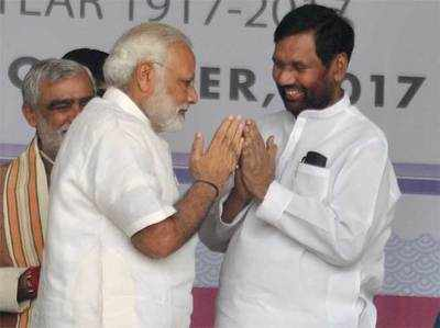 'NDA Sarkaar Dalit Hitaishi', Paasavaan Ne Sambhaala Deshbhar Mein Maahaul Banaane Ka Jimma