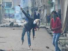police lathi charged on protesters and they started stone pelting in rajasthan