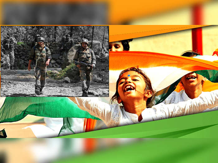 Independence Day in Kashmir