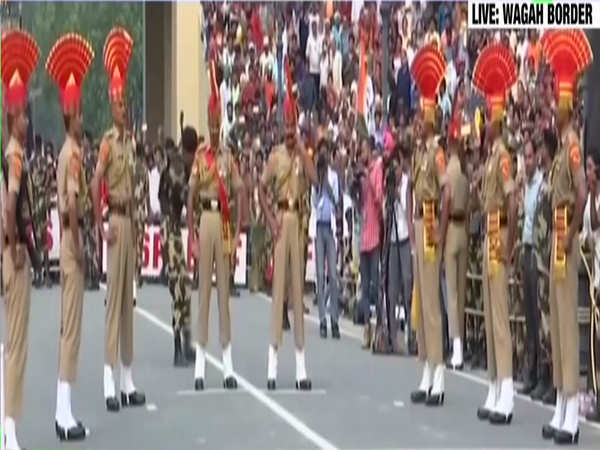 watch beating retreat ceremony at wagah border on 72nd independence day