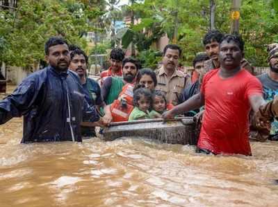 Kerala Mein Baadh Ka Kahar 79 Ki Maut, Bas Sevaaen Thap, Raahat Aur Bachaav Kaarya Jaari, Kai Ilaakon Mein Red Alert