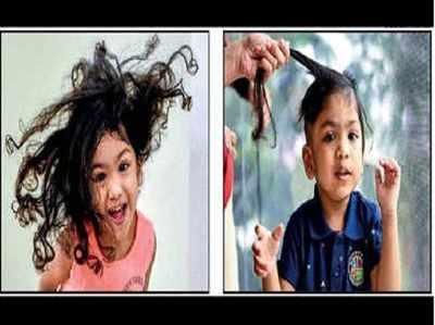 तीन वर्षीय मीर के बालों से कैंसर मरीजों के लिए बनेगा विग