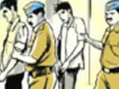 bjp social media functionary arrested in a loot case