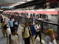 pink line section from shiv vihar to trilokpuri may open mid september