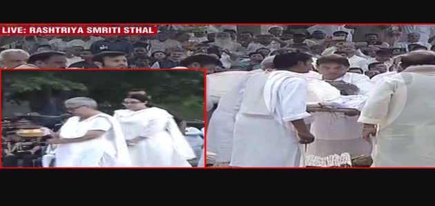 अटल बिहारी वाजपेयी का अंतिम संस्कार: बेटी ने दी मुखाग्नि