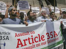 separatists calls for two days protest on 35a