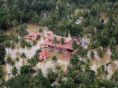 केरल में लगातार जारी है बाढ़ का कहर