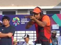 lakshay sheoran adds fourth medal to indias tally wins silver in mens trap