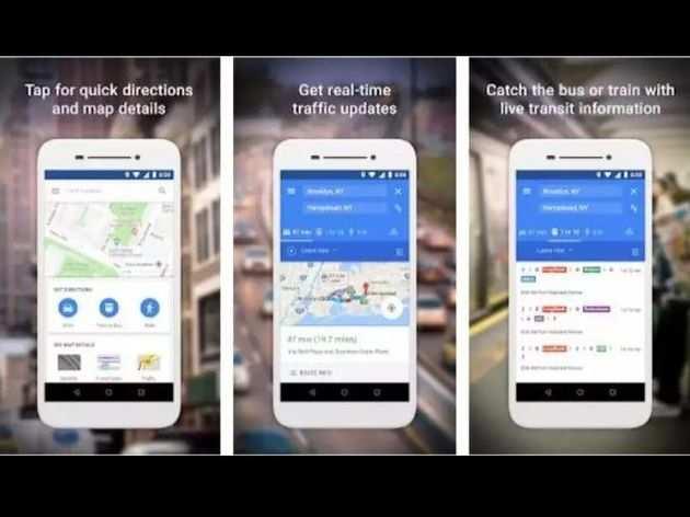 गूगल मैप्स गो