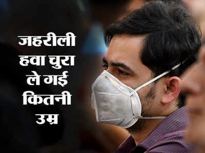 वायु प्रदूषण से डेढ़ साल घटी भारतीयों की उम्र